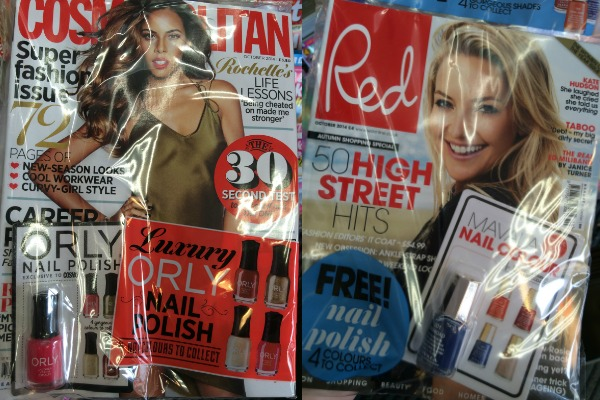 magazine freebies september