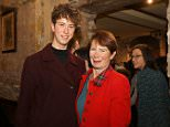 Celia Imrie, with her son Angus, has revealed she was once involved in a romantic relationship with Benjamin Whitrow