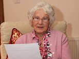 The bank was forced to apologise after retired teacher Jean Mackay (pictured) came forward with paperwork that clearly showed her signature was faked on a bank document