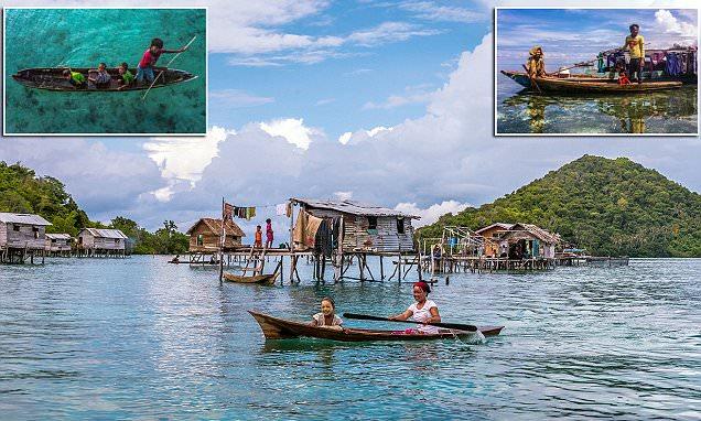 Fascinating images reveal lives of the Bajau 'sea gypsies'