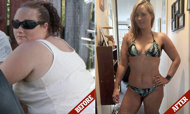 Mother sheds 60 kilos without exercise