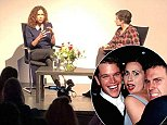 A movement:Minnie Driver (above on Tuyesday in London) spoke out against her ex Matt Damon and other 'intelligent, nice white males' who tell women how they should 'metabolize stuff'