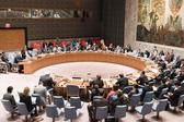 UN Security Council meeting on Syria's besieged Eastern Ghouta (AFP/File Photo)