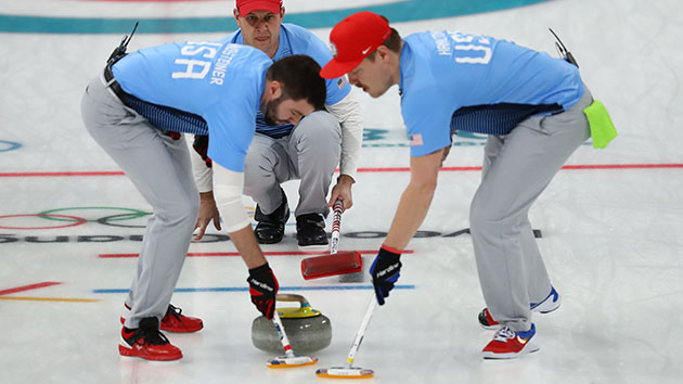 American men's curling team wins gold medal for first time ever at Olympics