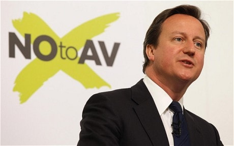David Cameron: why keeping first past the post is vital for democracy
