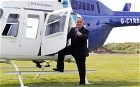 Cameron has seen off AV – but now he must see off Salmond; SNP leader Alex Salmond boards a helicopter at Strathaven Airfield on May 4; PA