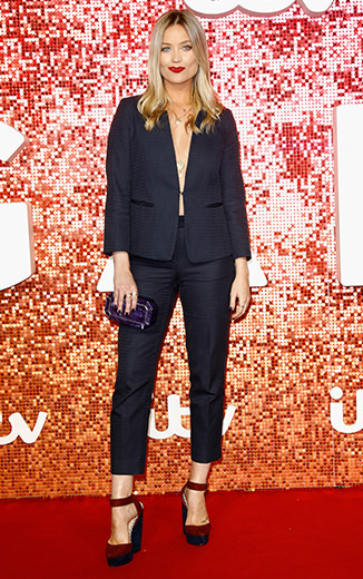 Laura Whitmore really wore the trousers at the ITV gala