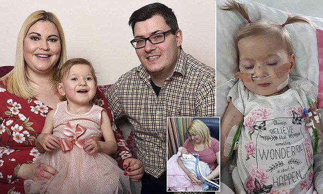 Toddler who battled 11 defects has defied the odds