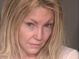 Heather Locklear was arrested for domestic violence and attacking three cops Sunday night. She's pictured above in her most recent mugshot above