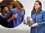Mandatory Credit: Photo by Tim Rooke/REX/Shutterstock (9439880ag) Catherine Duchess of Cambridge at St Thomas' Hospital Catherine Duchess of Cambridge visits the Royal College of Obstetricians and Gynaecologists, London, UK - 27 Feb 2018 The Duchess of Cambridge will visit the Royal College of Obstetricians and Gynaecologists (RCOG) on Tuesday 27th February. Her Royal Highness will learn more about the College's global health programmes to reduce maternal and newborn mortality worldwide, and will attend a roundtable discussion on tackling the stigma around women's health.