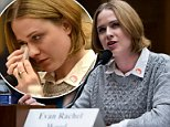 Actress Evan Rachel Wood testified to the United States Congress about the effects of the 'toxic mental, physical and sexual abuse' she encountered at the hands of an ex-partner