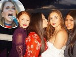 L-R Sisters Jackie, Claudia, Margo, Olivia Oshry have created massively popular Instagram meme pages, but avoid directly referencing their alt-right, Islamophobic mother