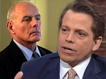 Former White House Communications Director Anthony Scaramucci bashed Chief of Staff John Kelly on Thursday, saying his iron-first management style will drive top aides out of the West Wing – and branding the retired U.S. Marine 'General Jackass' and calling on him to quit
