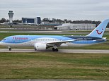 A Thomson flight from Manchester to Cancun was forced to divert to Gatwick after a cockpit window shattered in mid-air