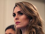 Hope Hicks, the ultimate Trump right-hand woman, was reportedly berated by the president after she admitted to telling 'white lies' for Donald Trump during her testimony to the House Intelligence Committee on Tuesday