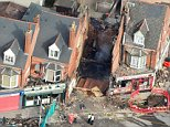Three men have been charged with manslaughter and arson over a supermarket explosion in Leicester. Five people were killed in the incident