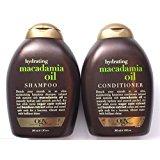 Organix Hydrating Macadamia Oil Shampoo and Conditioner Set -- 13 Fl Oz