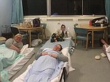Nurses at Nevill Hall hospital inin Abergavenny worked a 12-hour shift and then stayed overnight at the hospital - where they were not charged accommodation expenses - to look after victims of the big freeze