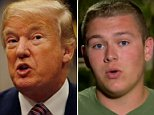 President Donald Trump slammed CNN Thursday night in a tweet that included a claim that a Parkland shooting survivor 'quit' the network's town hall over a 'scripted question'