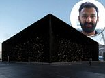 London-based architect Asif Khan built the world's darkest building. It will be displayed at Pyeongchang's Olympic Park in South Korea