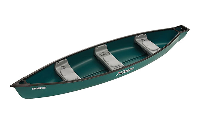 sun dolphin scout ss canoe review