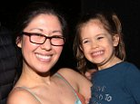 The 4-year-old daughter of Tony-winning actress Ruthie Ann Miles and a 1-year-old boy have been identified as the children hit and killed by a woman who ran a red light in Brooklyn on Monday; Ruthie Ann Miles is seen here with her daughter in New York City in 2017