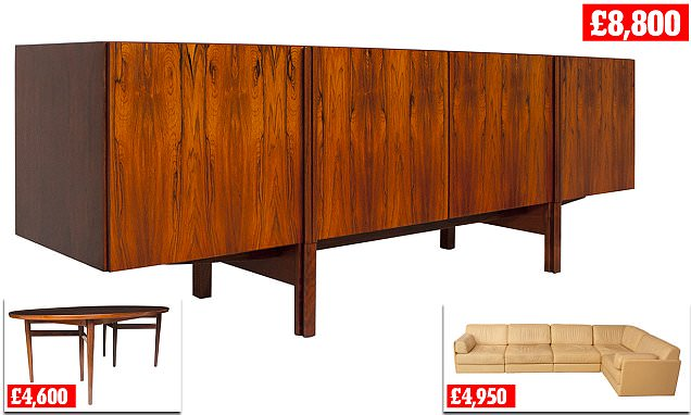 Sixties furniture is making a comeback with surging prices