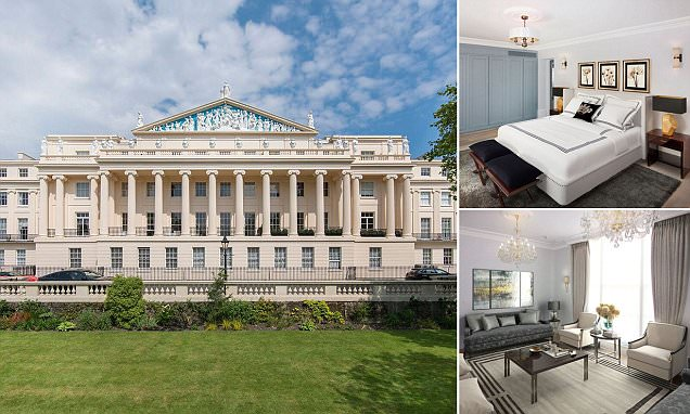 The Nash Regent's Park townhouse to rent for £520k a year