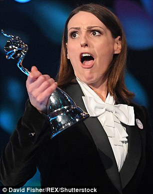 Woman of the night: Suranne Jones took home the gong for Drama Performance for Doctor Foster season two - after scooping the same award for the same role in 2016