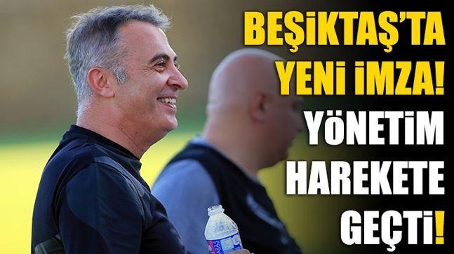 Beşiktaş'ta yeni imza! Yönetim harekete geçti...