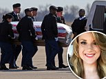 The Department of Defense announced Tuesday that 26-year-old Christina Marie Schoenecker (Pictured), Arlington, died Monday in Baghdad, Iraq