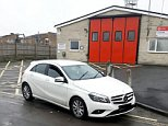 A parent on the school run has sparked fury by refusing to move their car from outside a fire station (pictured)