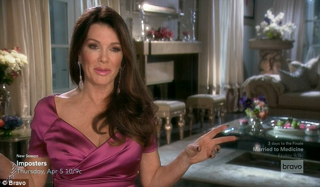 High road: Vanderpump took the high road and didn't get into it with Bethenny