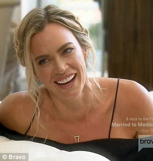 Accountability coach: Teddi Mellencamp Arroyave pointed out to Vanderpump that her friend Dorit never admits to wrongdoing