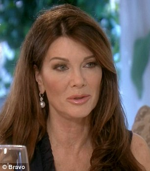 Microscopic detail: Kyle told Vanderpump that everything she does is 'under a microscope'