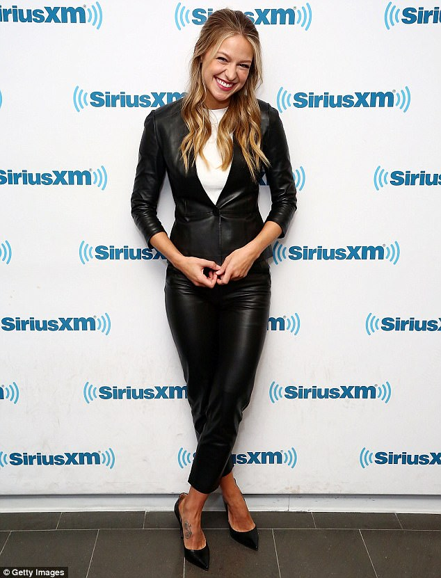 Fan favorite: Melissa looked lovely in a black and white outfit