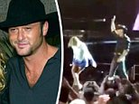 Faith Hill and husband Tim McGraw were in Ireland performing together when McGraw fell ill