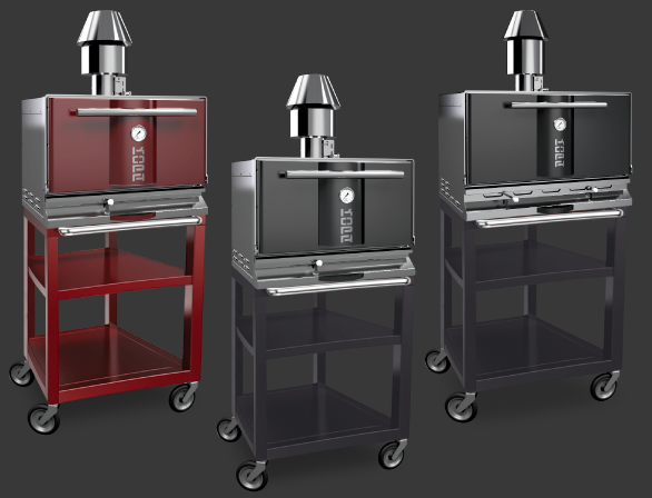 Kopa ovens on stand