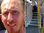 The commuter received a criminal conviction and a fine after receiving oral sex from a strange woman on the train