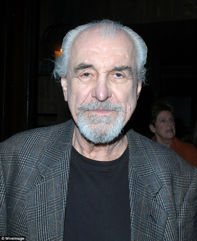 Veteran: Louis Zorich, best known for his role as Paul's father on Mad About You, passed away on Tuesday at age 93. He's seen here in 2005