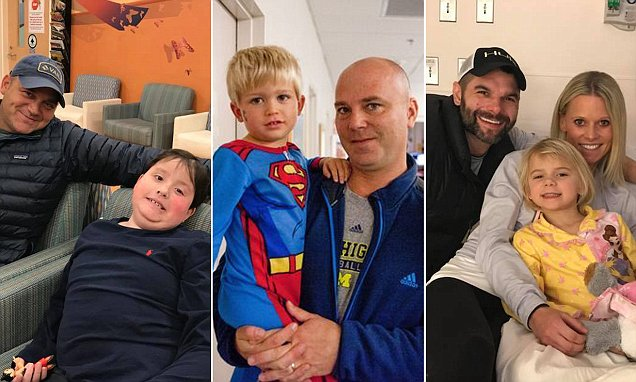 3 ex-Michigan football players' children are diagnosed with cancer