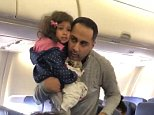 Alexis Armstrong was on Southwest Airlines Flight 1683 from Chicago to Atlanta on Wednesday when she saw a man (pictured) and his toddler daughter get forced off the plane