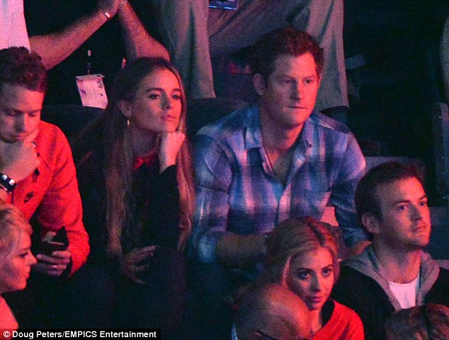 No worse: Cressida recently remained coy about her two-year romance with Prince Harry, amid rumours she will be invited to his wedding to Meghan Markle