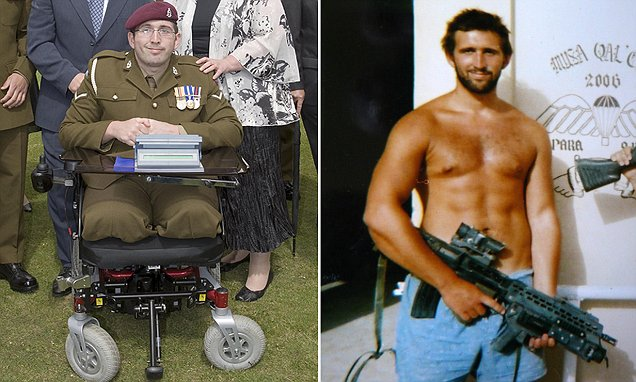 Afghanistan hero sues MoD after pay cut and lack of care