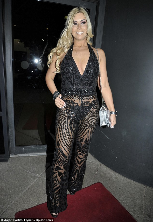 Celeb event: Model and blogger Jade Ainsworth was joined by host Jay Hynd and performers Amelia Lily, Lydia Lucy, 90's boy-band 911 and The X Factor's Gary Barker