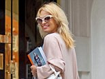 Baywatch TV star Pamela Anderson could be grilled over visits to Julian Assange in theEcuadorean Embassy in London where he has been holed up since 2012 (Pictured at the embassy in 2016)
