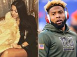 Laura Cuenca, 21, has revealed that she wasn't even familiar with who the star New York Giants football player was, thinking he was a Saudi Prince when she laid eyes on him at the Le Queen club on March 8