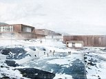 Ny Anstalt is located in Nuuk, the capital of Greenland, and is a 'humane prison' which will allow certain prisoners to travel to the city and work, before they return home for the evening