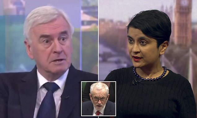 Labour leadership tries to stem damage from Corbyn's Russia stance