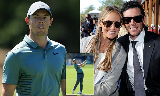 Rory McIlroy nearly clashes with rowdy golf fan
